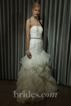 """Alyne """"Cecil"""" gown on Brides.com from the """"Sip & Pin"""" event!"""