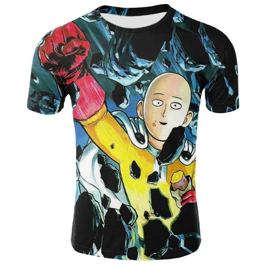 Saitama One Punch Man 3D T-shirts | Saitama one punch ...