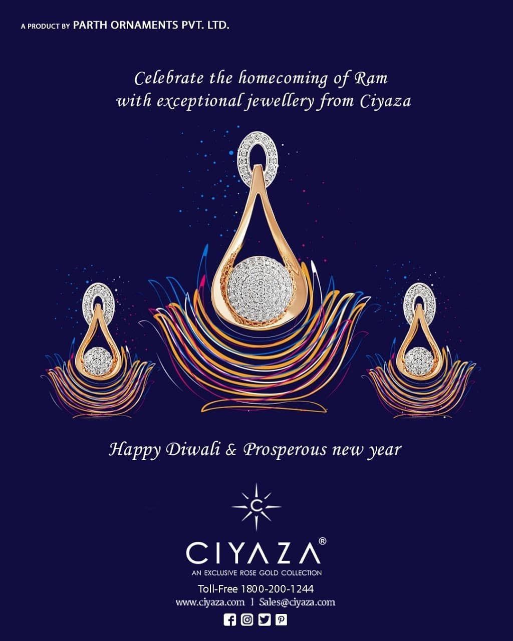 Wishing you a happy prosperous Diwali and New year. Don't