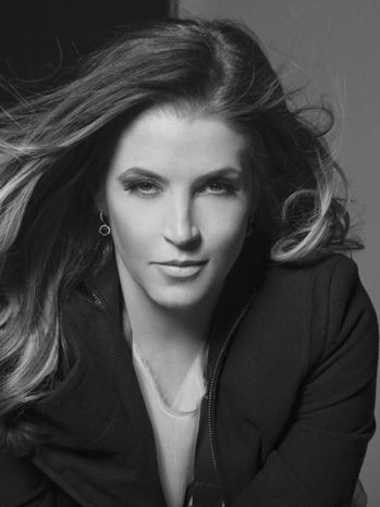 Lisa Marie Presley...my girl right here. Incredible how much she looks like her dad.