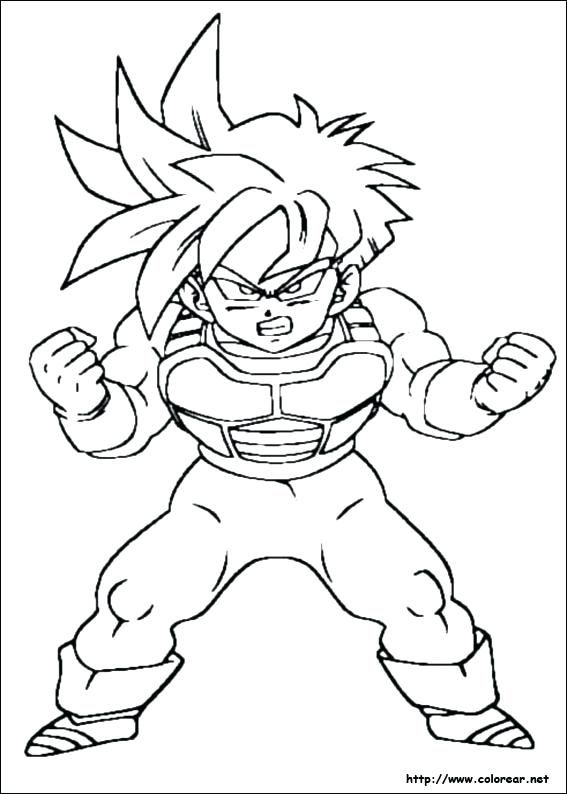 dragon ball z para colorear dibujo de para imprimir cell de dragon ...