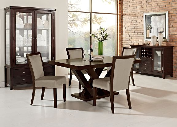 tempest tango ii dining room collection value city furniture rh pinterest com