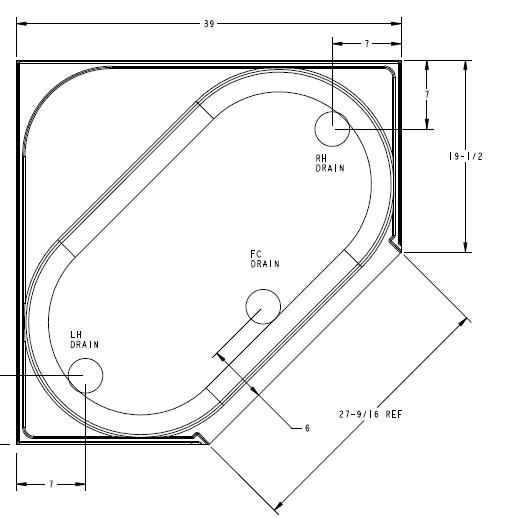 Corner Tub Idea Garden Tub Corner Tub Tub Sizes