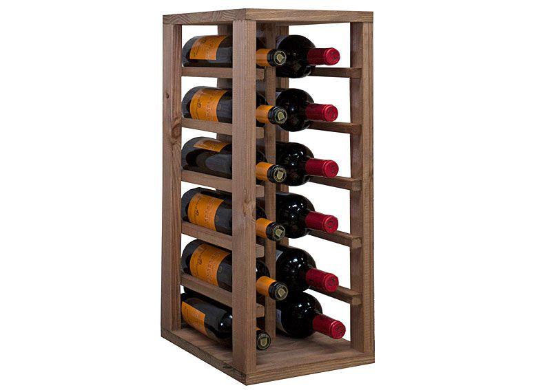 Botellero modular para 12 botellas vino | Nevera de vinos, Botellero ...