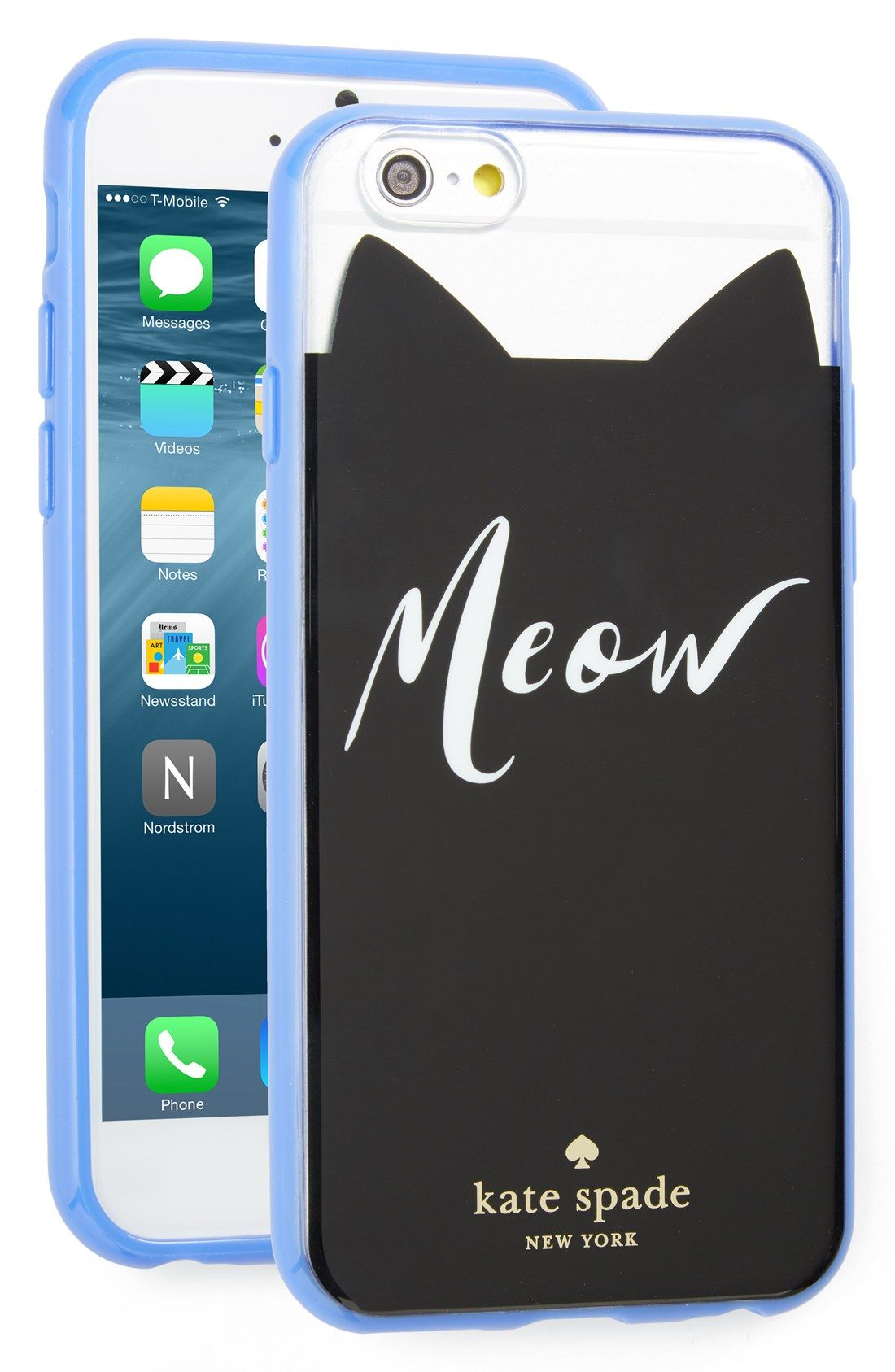 Meow iphone 6 6s case kate spade