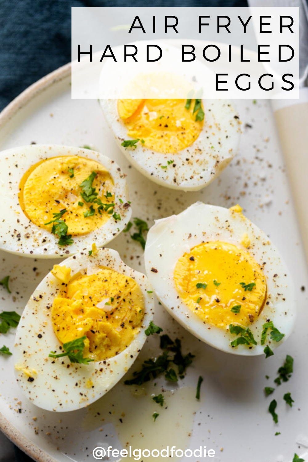 Air Fryer Hard Boiled Eggs Recipe in 2020 Recipes