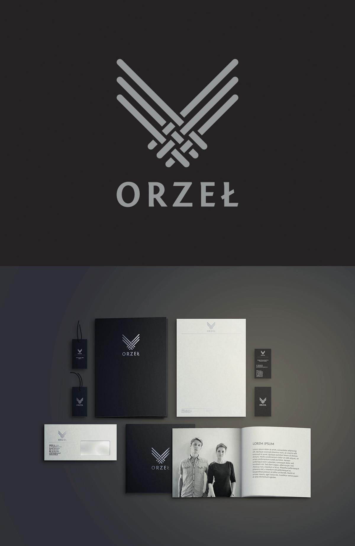 Visual identity for linen fabrics producer Orzeł sp z.o.o