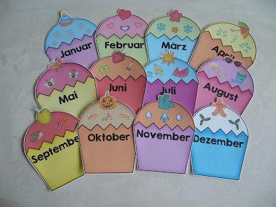 Ideenreise Geburtstagskalender Geburtstagskalender Grundschule Geburtstagskalender Schule Basteln Geburtstagskalender