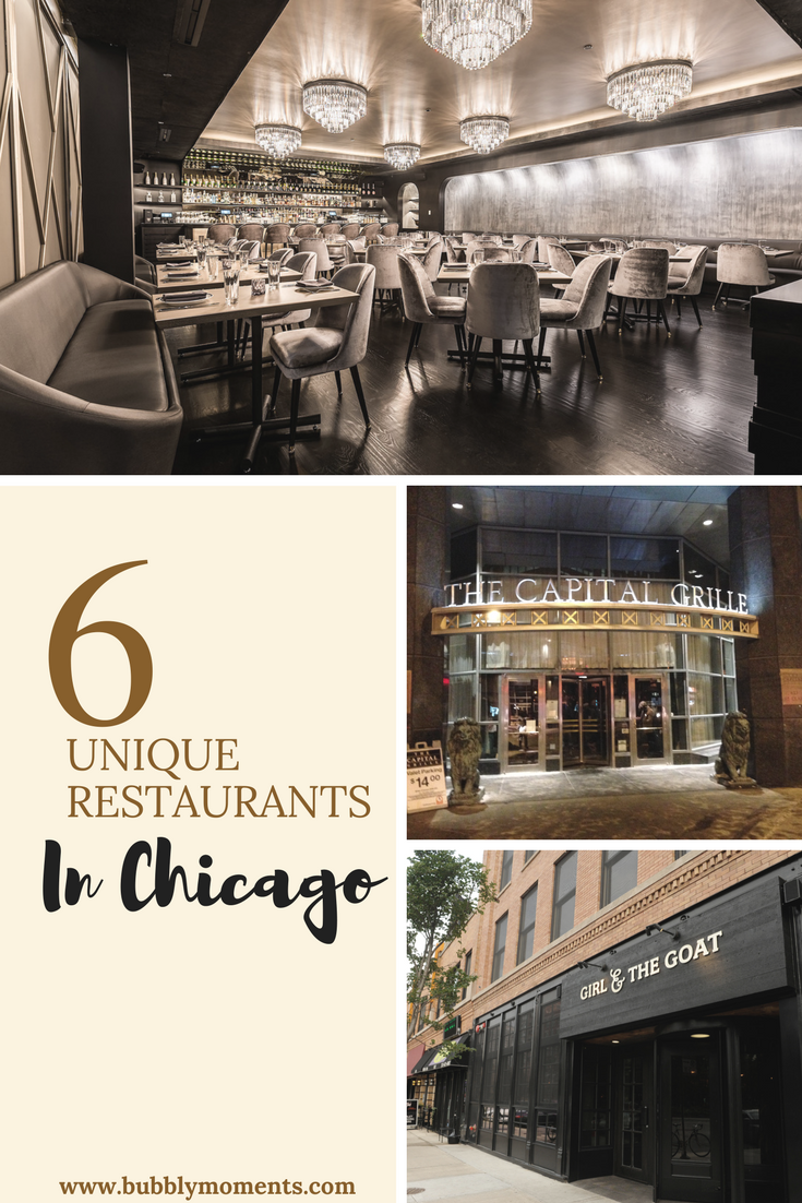 6 Unique Restaurants In Chicago Downtown Blvd Ralph Lauren Restaurant The Goat Bavette S Bar Boeuf Joe Seafood