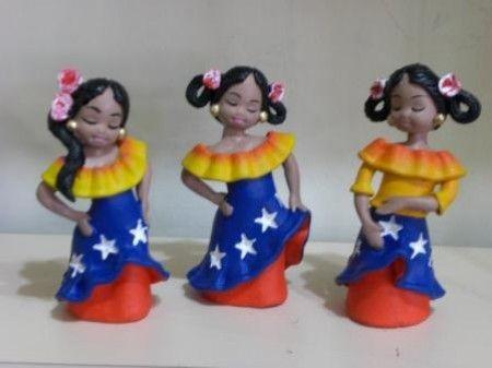muñecas tipicas venezolanas