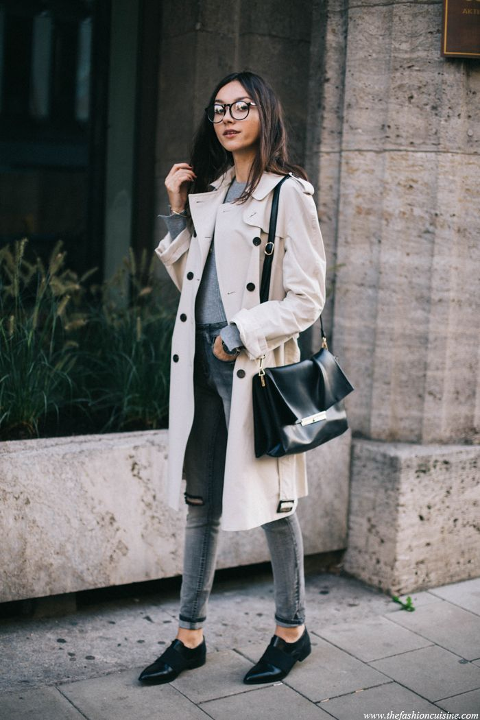 d36df30e3d7b Trench Coat fall 2015 outfit ideas | Fashionable snapshots | Fashion ...