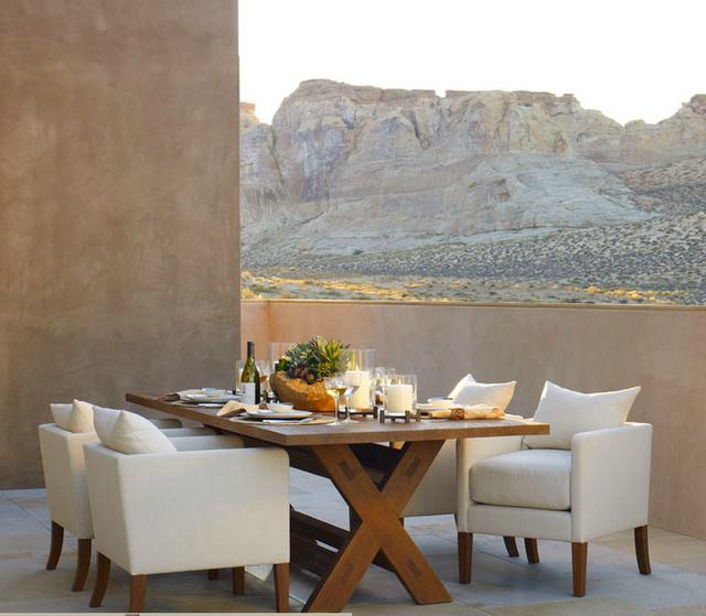 RALPH LAUREN - DESERT MODERN   Terrazas, Decoraciones de mesa y ...