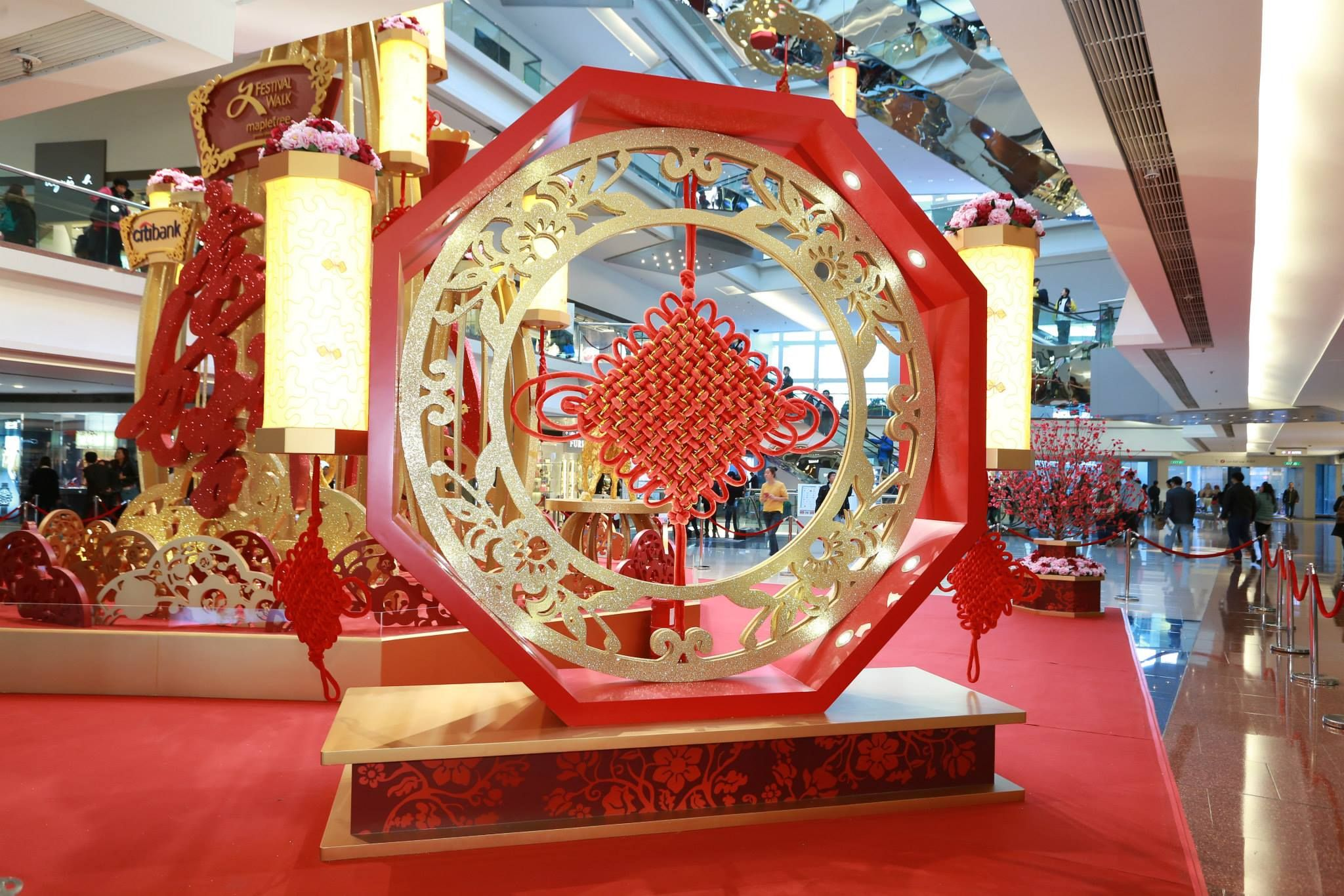 Festival Walk Hk 1 Lunar New Year Decoration Part 1 Pinterest