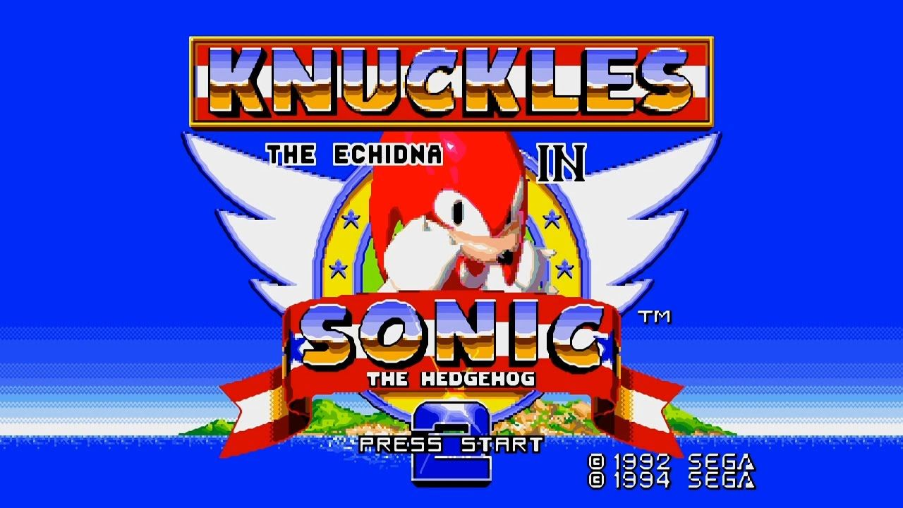 Knuckles In Sonic The Hedgehog 2 Full Playthrough Sonic The Hedgehog Sonic Knuckles Sega