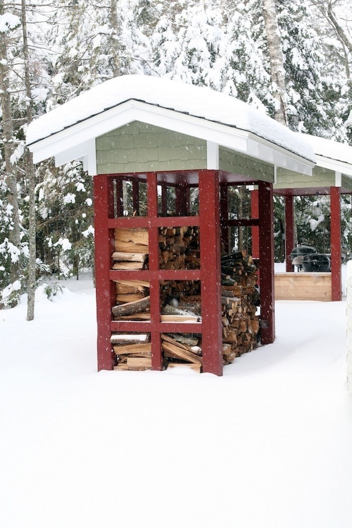 This small wood shed is built to match the 1920's cottage in my boards. Like most of our custom homes, the homeowner may need other structures in addition to the house that match the home itself. - For more on the areas we service follow this link. http://www.northtwinbuilders.com/about