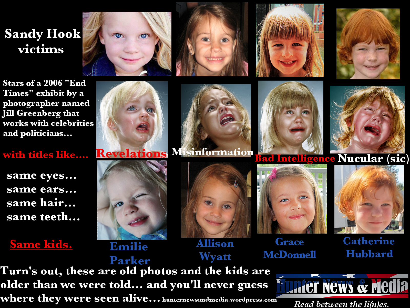 conspiracy theory about sandy hook girl
