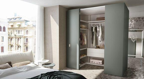 Cabina Armadio Esempi : Organizzare la cabina armadio per ogni tipo di camera da letto