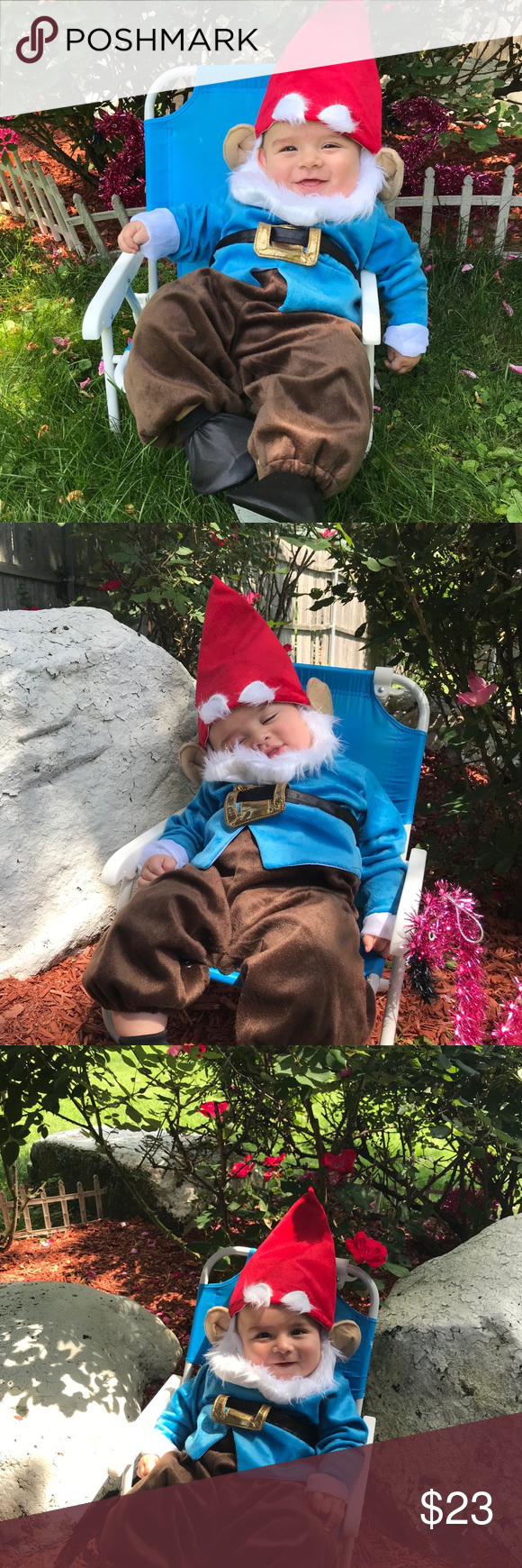 Little garden gnome costume #gnomecostume Spotted while shopping on Poshmark: Little garden gnome costume! #poshmark #fashion #shopping #style #incharacter #Other #gnomecostume