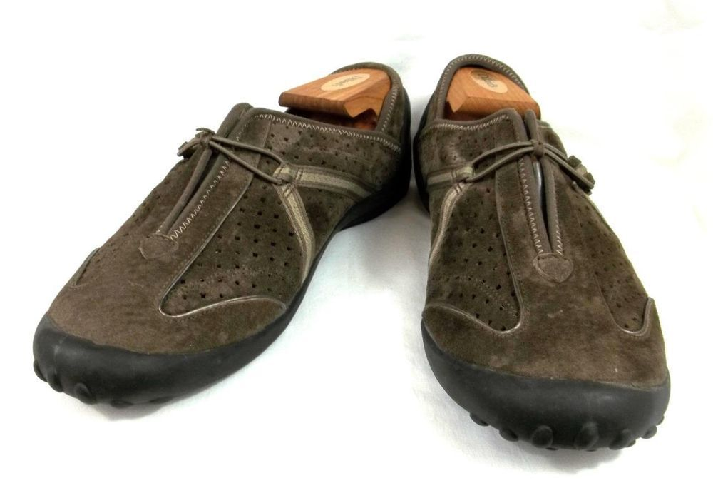 9fd05e38d64 Privo Clarks Sport Loafers Walking Shoes Womens 11 M Solid Brown Suede  Leather  PrivobyClarks  LoafersMoccasins