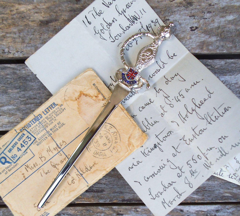 21+ Letter opener knife personalised trends