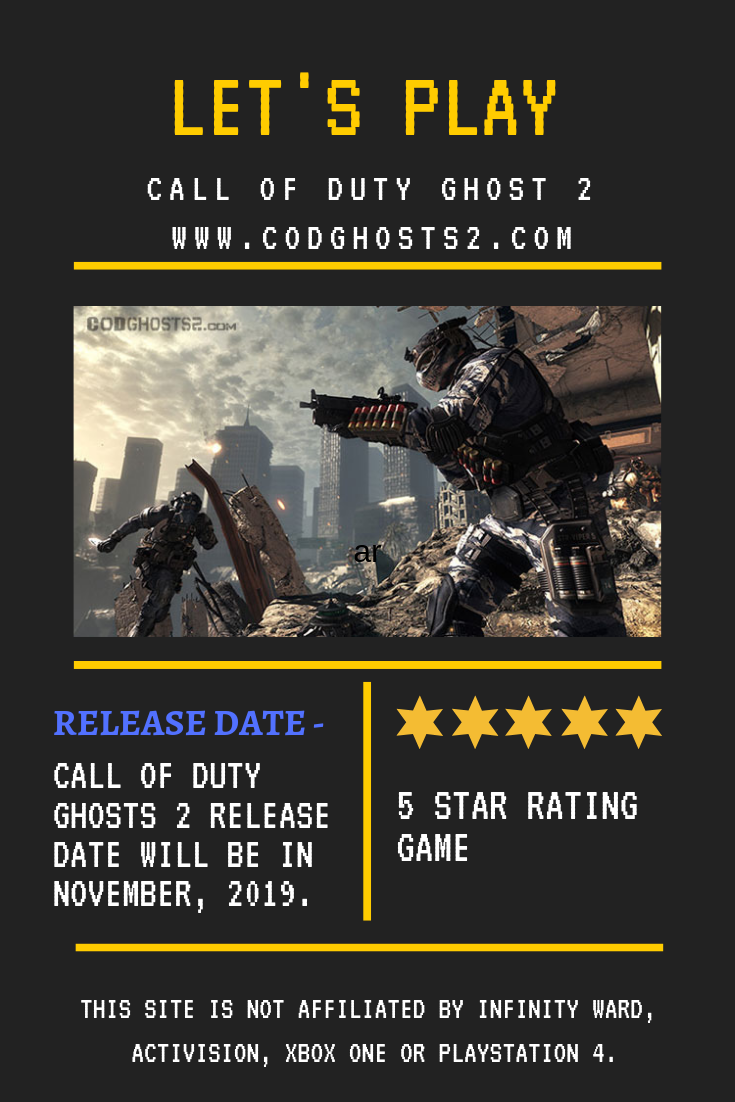 COD ghost 2 it is a new game series of call of duty with new