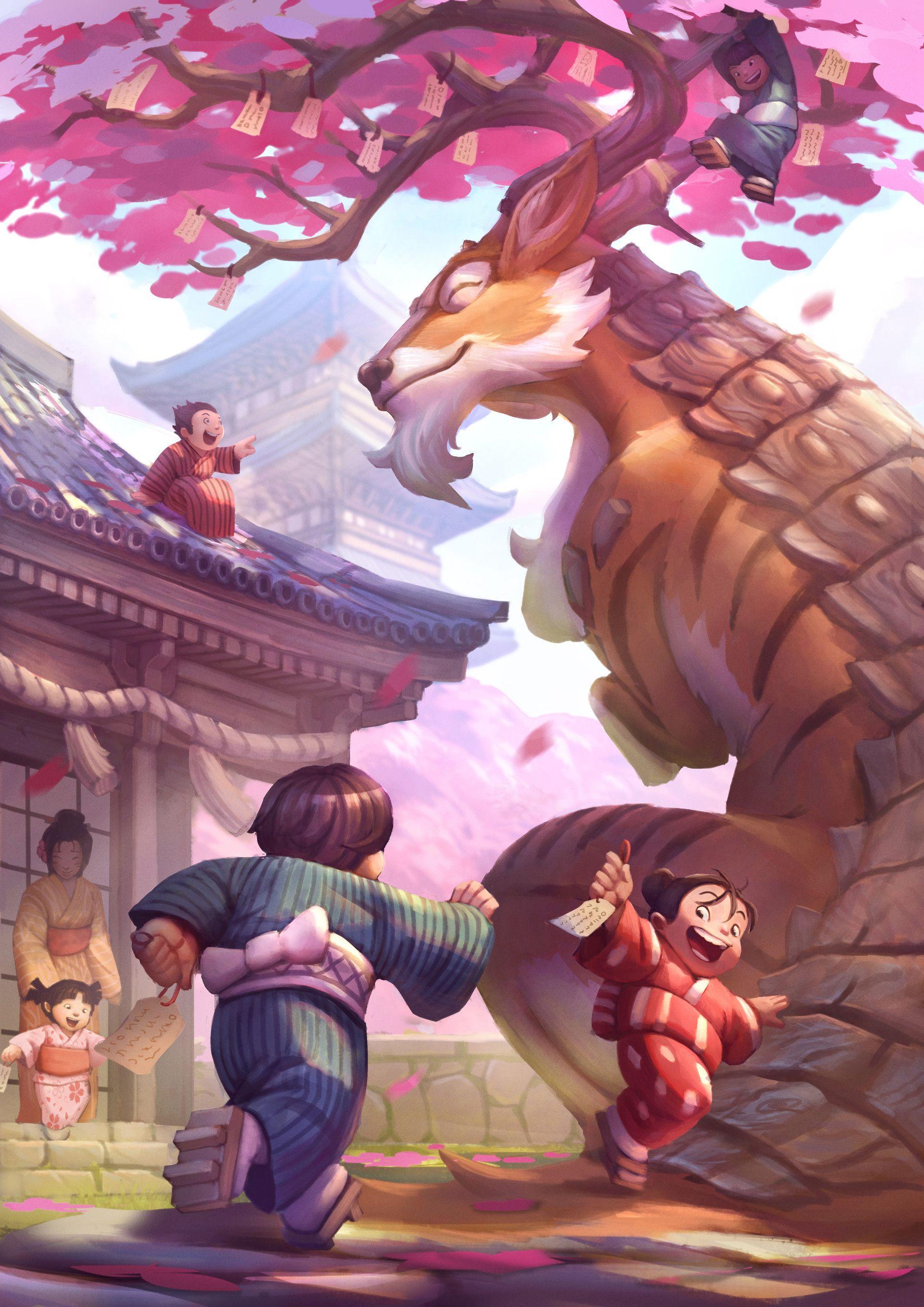 Time For Some Tea Kotaku Uk Arte Fantastico Dragones Dibujos