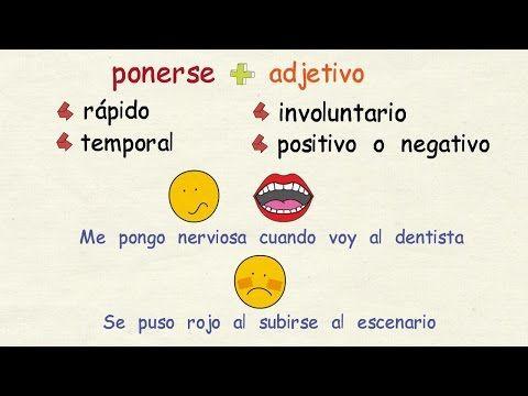 Aprender Espanol Verbos De Cambio Nivel Avanzado Youtube