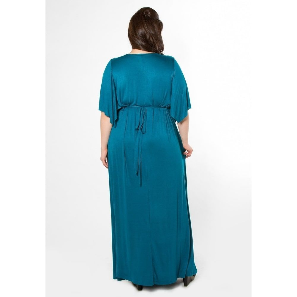 966af5a2c2 Sealed with a Kiss Women's Plus Size Joan Maxi Dress (3x), Size: 3XL, Grey  charcoal (spandex)