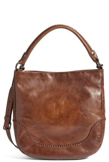 Loving this Frye Melissa Whipstitch Leather Hobo - Brown  frye  handbags   totes  purses  hobo  onsale  sale  affiliate dc60e1892a390
