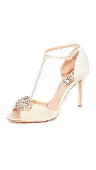 Darling T-Strap Sandals   wedding dresses   Pinterest   Badgley ... 07b2b642c4