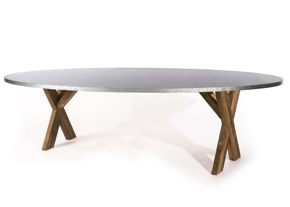 42+ Zinc top dining table set Trending