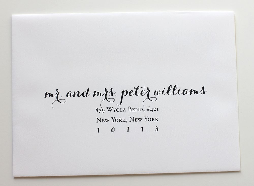Fonts To Address Save The Date Envelopes  Home Wedding Collection