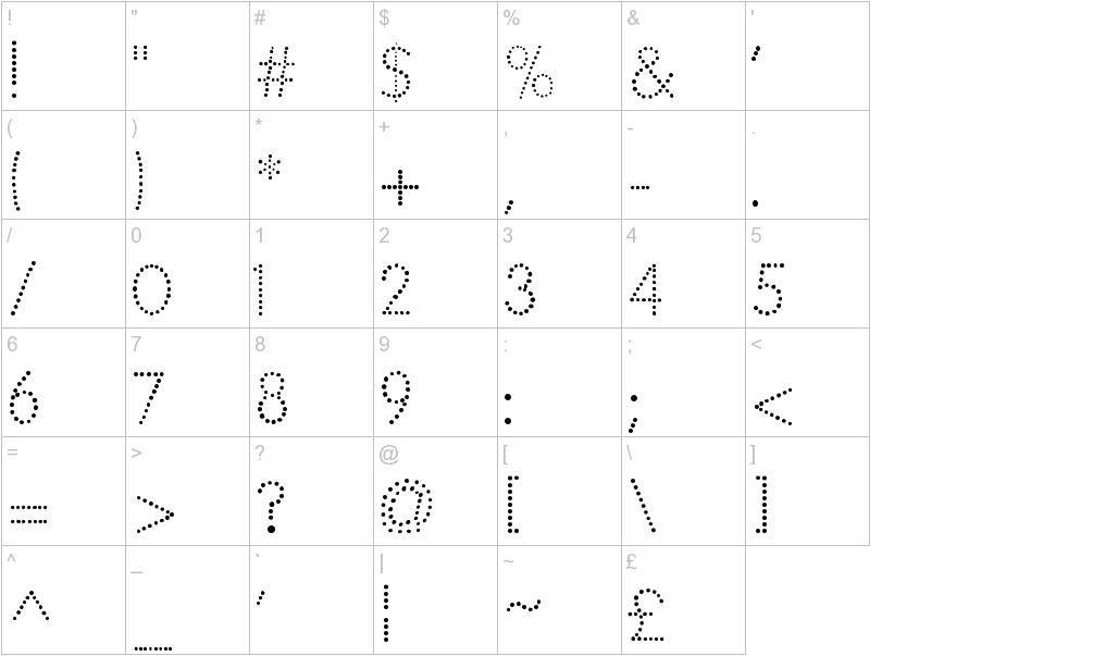 Free Tracing Dotted Font | Homeschooling Kindergarten | Fonts