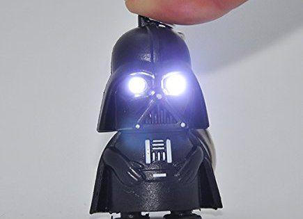 sabre laser Porte Clef lumineux et sonore DARK VADOR