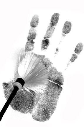 crime scene processing clip art - Description Of A Crime Scene Investigator