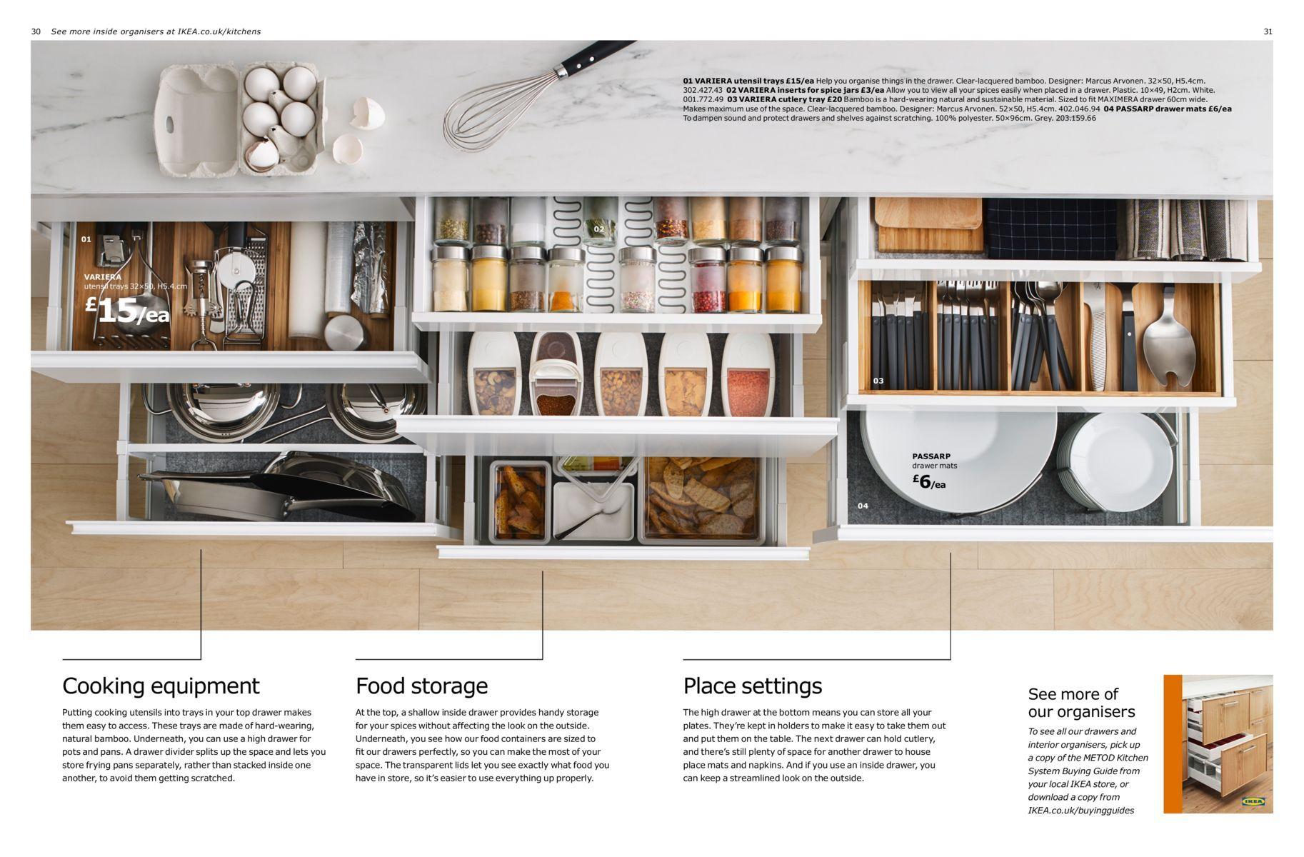 Kitchen Brochure 2017 Baking In 2019 Cuisine Ikea Ikea