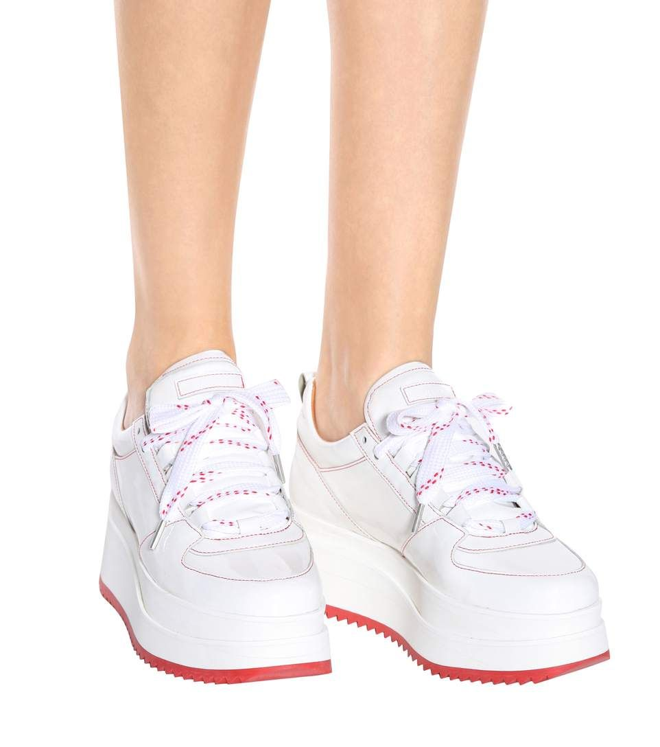 Exclusive to mytheresa.com - Edel patent leather sneakers Ganni c27tMbq1fn