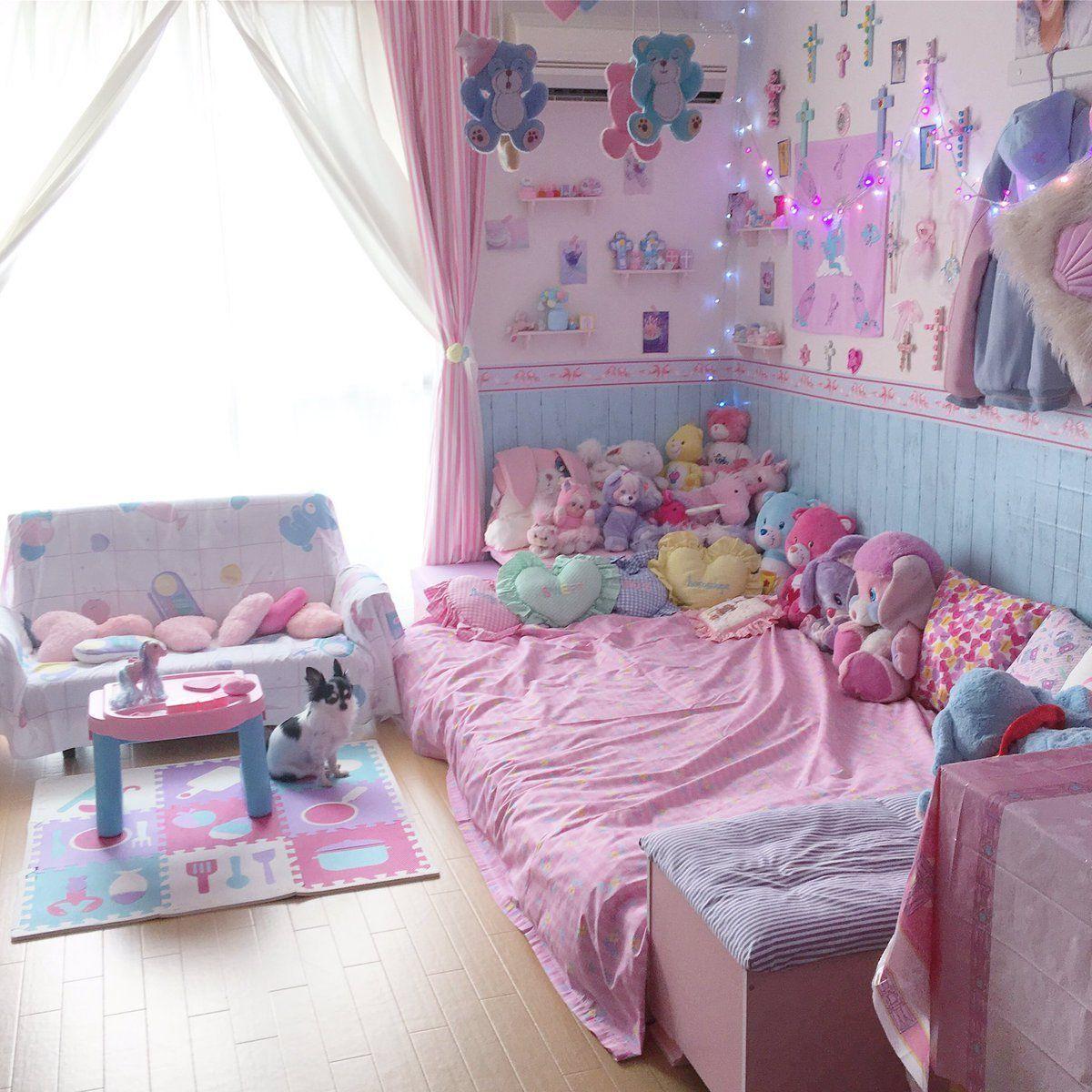 Kawaii Bedroom, Pastel Bedroom
