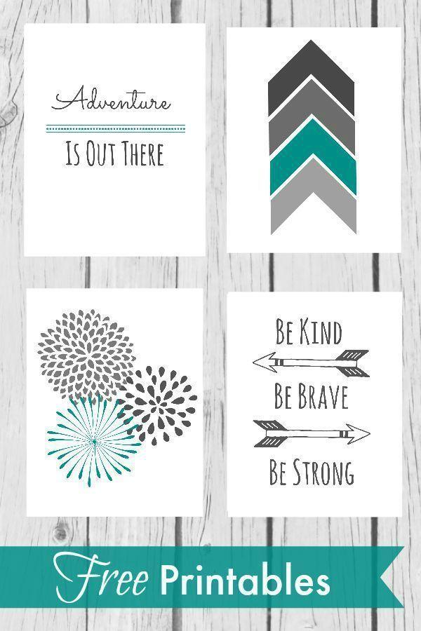 Nursery Wall Decor - With Free Printables | Aayla | Pinterest ...