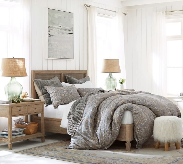 Pottery Barn Sausalito Bed   Bedroom   Bedroom Storage, Bed ...