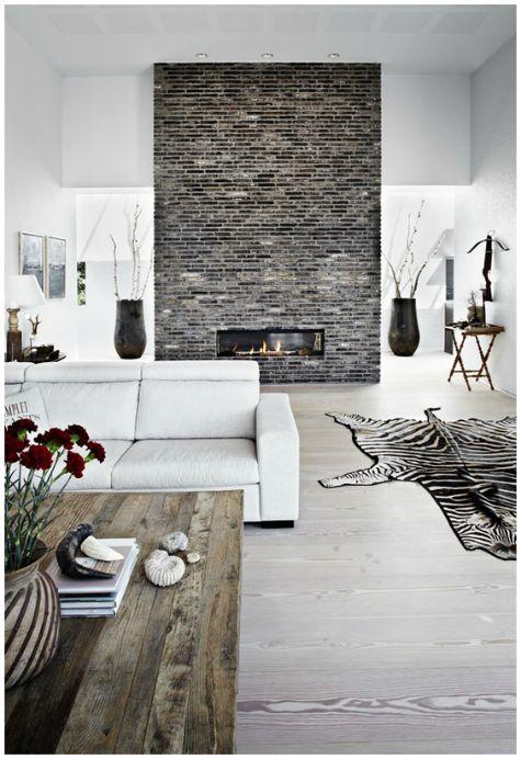 Living Room Inspiration #white #flooring