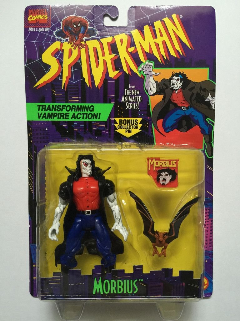 1995 ToyBiz Marvel Comics Spider-Man Morbius Action Figure 47144