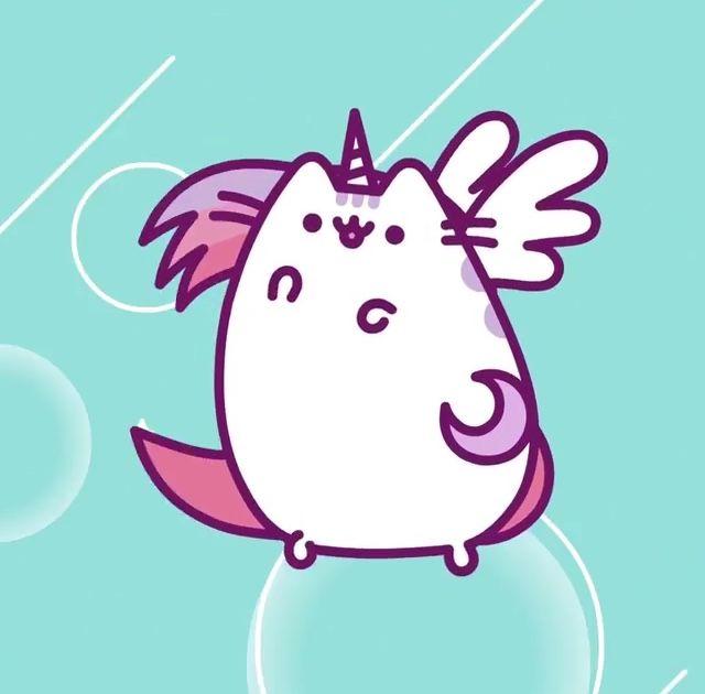 Super Pusheenicorn | Cute Graphics | Pusheen cat, Pusheen ...