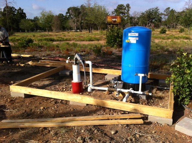 The Pump House Begins Water Well House Pump House Well Pump