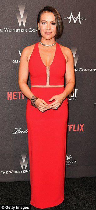 Kristin Cavallari And Alyssa Milano Dazzle The Weinstein Globes