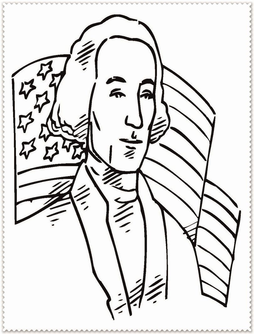 28 George Washington Coloring Page In 2020 Coloring Pages