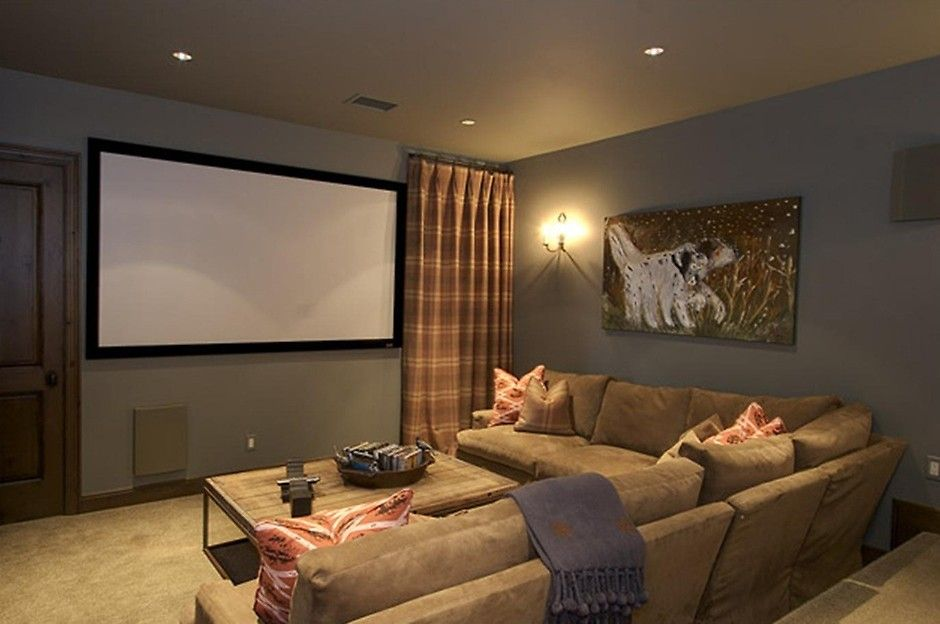 How To Design The Best Home Theater Media Room Colors Media Room Paint Colors Media Room