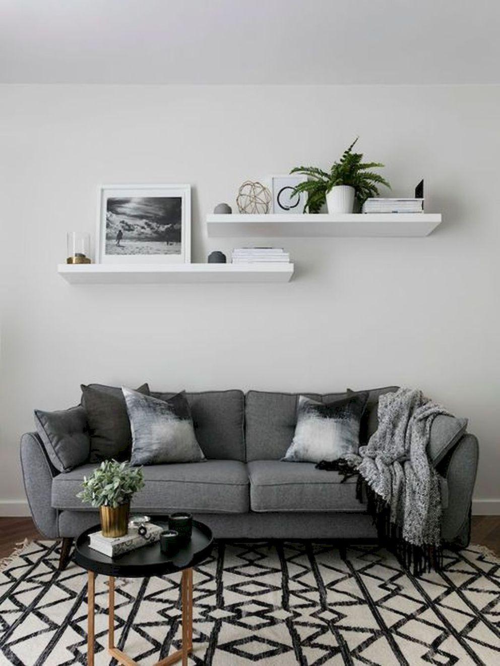 17 Cozy Farmhouse Living Room Makeover Decor Ideas images