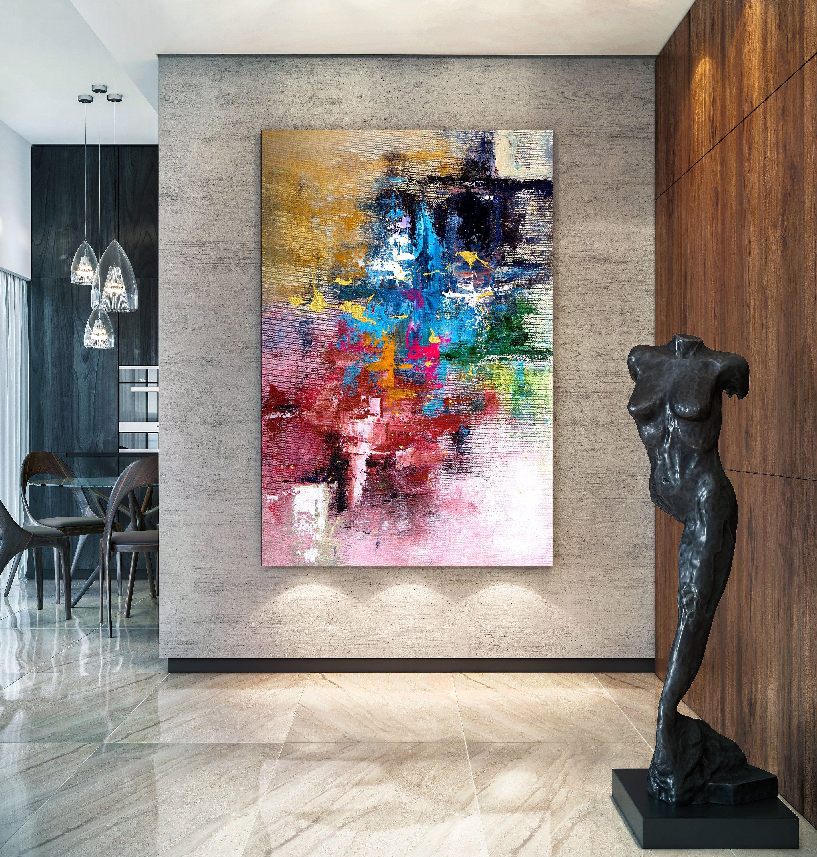 Large Modern Wall Art Painting Original Extra Large Wall Art Painting Original Original Art Office Wal Extra Large Wall Art Textured Wall Art Handmade Wall Art