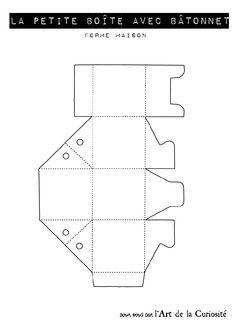 gabarit boite maisonnette b tonnet by l 39 art de la. Black Bedroom Furniture Sets. Home Design Ideas